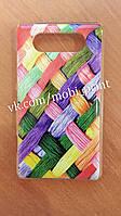 Чехол для Nokia Lumia 820 (цветные полосочки)