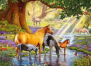"""Пазлы 300 """"Лошади у реки"""", фото 2"""