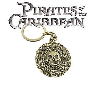 Брелок монета Пираты Карибского моря Pirates of the Caribbean