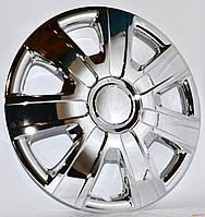 """Колпаки на колеса   Р14,  R14  """"WINJET"""" WJ-5076-C хром"""