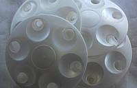 Колпаки колесные Заз 1102 -1105,Таврия,Славута белые Сатурн (к-кт 4 шт.)