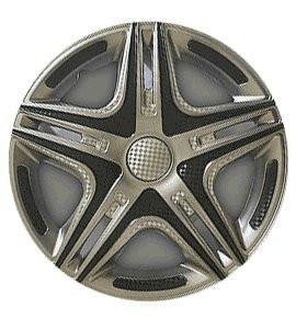 """Колпаки на колеса   Р14, R14 Дакар SUPER SILVER """"STAR"""""""