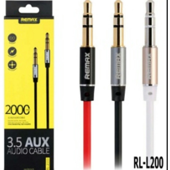 AUX кабель REMAX RL-L200 (3.5х3.5) 2м