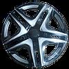"""Колпаки на колеса   Р16, R16 Дакар задний SUPER BLAK """"STAR"""""""