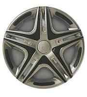 "Колпаки на колеса   Р16, R16 Дакар задний SUPER SILVER ""STAR"""