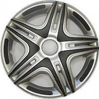 """Колпаки на колеса   Р16, R16 Дакар передний SUPER SILVER """"STAR"""""""