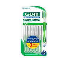 GUM Go-Betweens Proxabrush Cleaners, Tight Межзубная щетка 10 шт