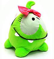 Мягкая игрушка «Ам-Ням» с бантиком, фото 1