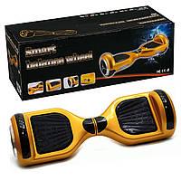 Гироскутер А 3-4/772-А3-4 Classic золотой, колёса диаметром 6,5 дюймов, Bluetooth, свет, в сумке, фото 1