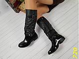 Резиновые сапоги 36 размер  непромокаемые модельные К720, фото 2