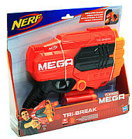 Бластер Hasbro Nerf Мега Три-брейк (E0103)