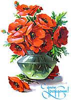 """Вафельная картинка """"Цветы 11"""""""