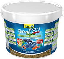 Tetra Pro Algae 10л /1,9кг- корм в виде чипсов для всех видов декоративных рыб (138827)