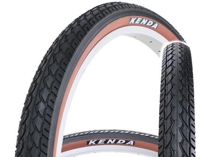 "Покрышка Kenda K-924 24"" Х 1,75 (O-O-0381) черно-коричневая"