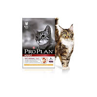 Pro Plan сухой корм для взрослых кошек курица - 0,4 кг