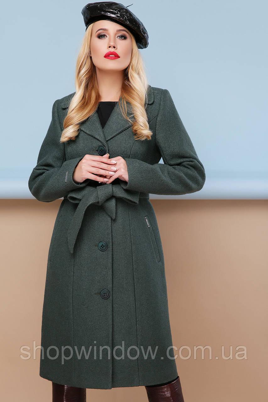 77eac882e92cb9 GLEM пальто П-316-100 Качественное женское осенние пальто. Стильное пальто.  Большой