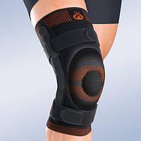 Бандаж, ортез на колено с закрытой коленной чашечкой и шарниром 9106 (наколенник, фиксатор коленного сустава)