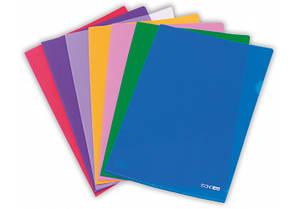 Папка-уголок A4 цветной Economix