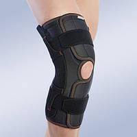Бандаж, ортез на колено с боковой стабилизацией 7104-А (наколенник, фиксатор коленного сустава)