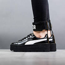 free shipping 07670 f6a0d Женские кроссовки Puma Ankle Strap Creeper Black