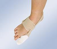 Бандаж при вальгусной деформации первого пальца стопы HV-32 (мягкий фиксатор, корректор большого пальца ноги)