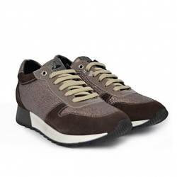 Жіночі кросівки H9160 Camoscio/Olaf Fango Hergos