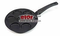 Сковорода для оладьев 24х1,9см с антипригарным покрытием (без смайликов) БИОЛ СО-24ZP