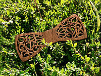 Деревянный галстук-бабочка №1