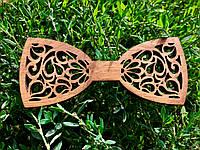 Деревянный галстук-бабочка №2