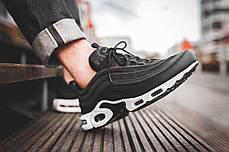 Женские кроссовки Nike Air Max 97 Plus Black White AH8143-001, Найк Аир Макс 97, фото 2