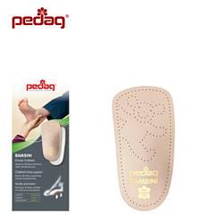 Детская ортопедическая каркасная полустелька-супинатор для всех типов обуви BAMBINI,192
