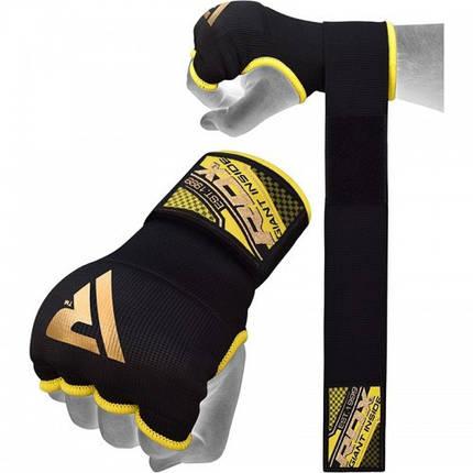 Бинт-перчатка RDX Inner Gel Black S, фото 2