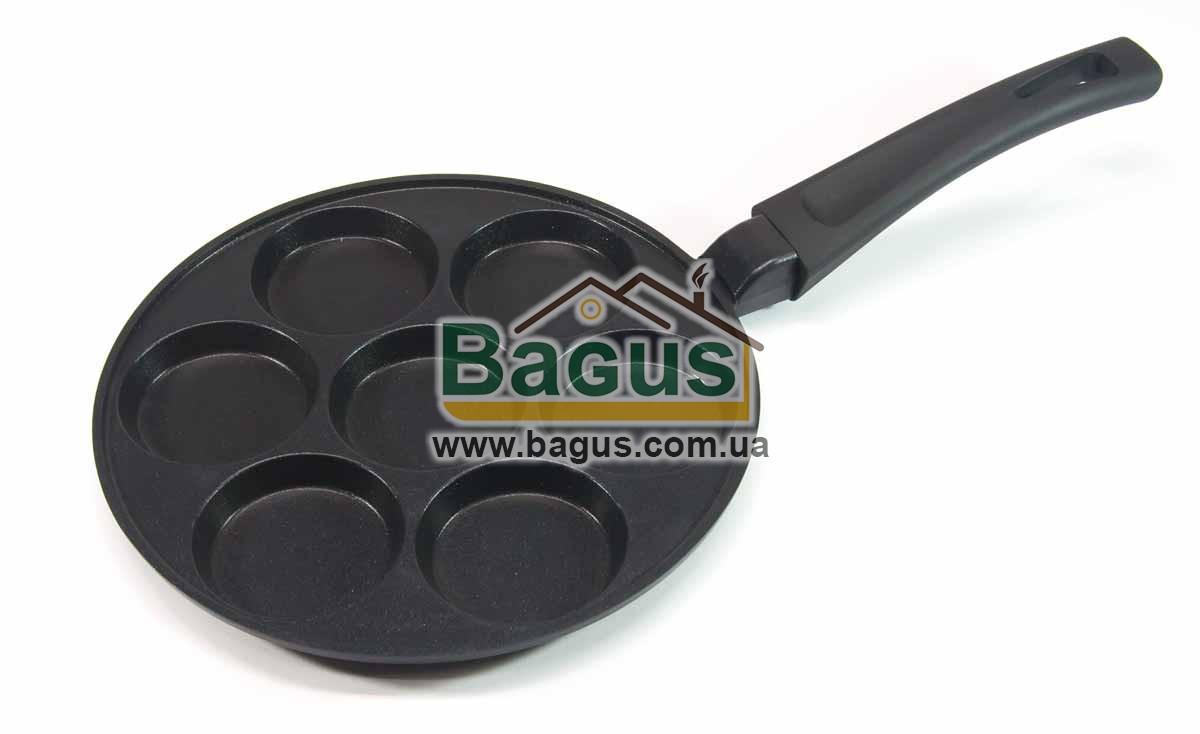 Сковорода для оладок (d-24см) з антипригарним покриттям (без смайлів) Біол (З-24ZP)