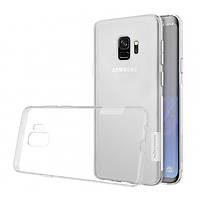 Прозрачный силиконовый чехол Nillkin Nature TPU case для Samsung Galaxy S9