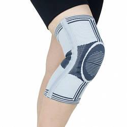 Наколінники, бандаж на коліно посилений Active А7-049 Doctor Life (еластичний фіксатор, ортез на колінний