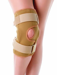 Брейс, бандаж на коліно з бічної стабілізацією KS-02 Doctor Life (ортез, фіксатор на колінний суглоб)