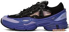 Мужские кроссовки Adidas x Raf Simons Ozweego III Purple Black
