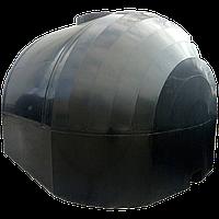 Емкость 6000 л для перевозки пищевой воды КАС двухслойная крышка с клапаном