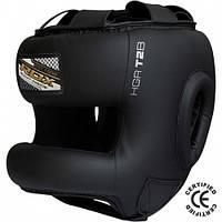 Боксерский шлем тренировочный RDX с бампером M