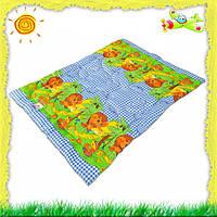 Детское одеяло  с силиконовым наплонителем Радуга