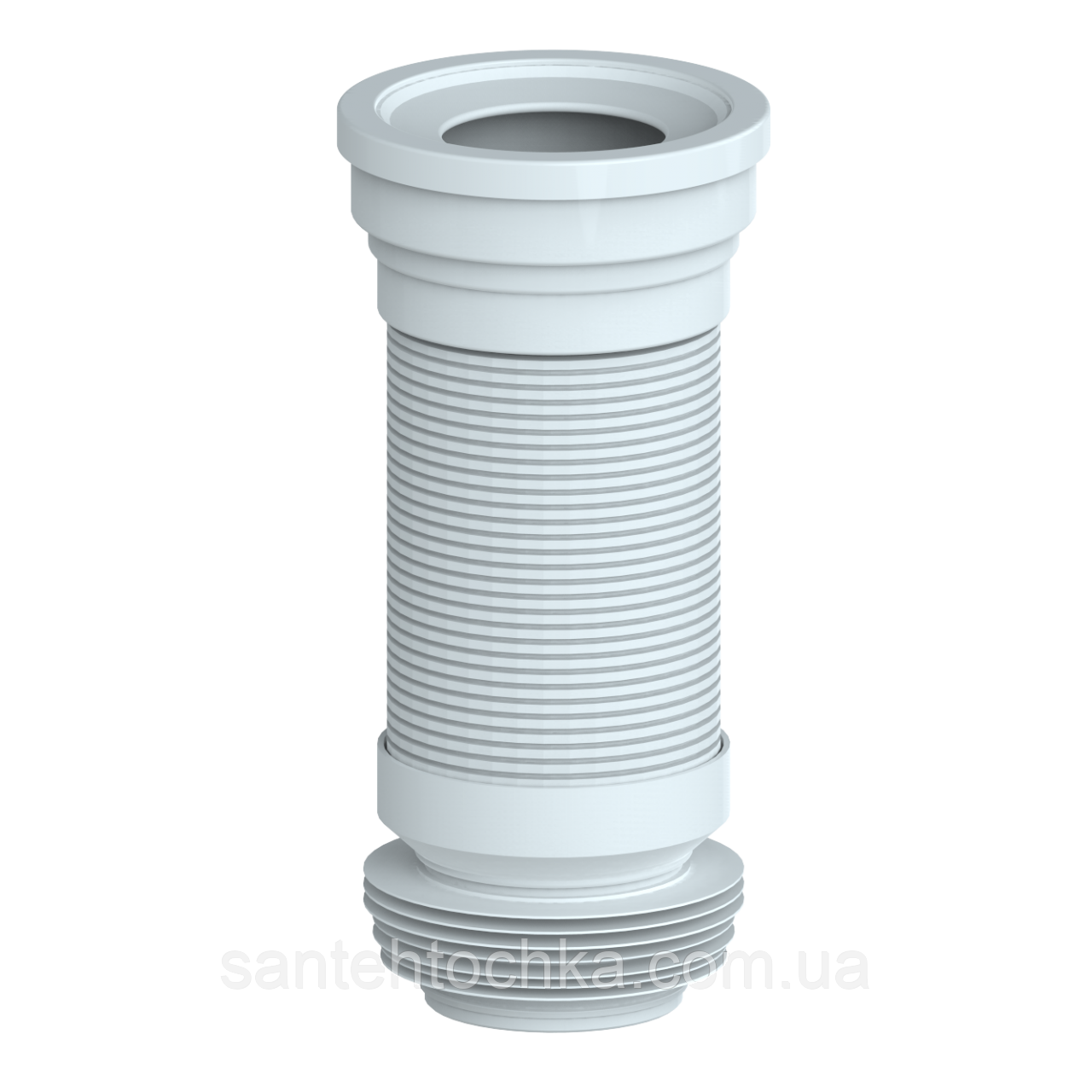 Гофро-труба для унитаза армированная 350мм UNICORN 42шт