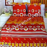 Махровое постельное белье семейка Polens