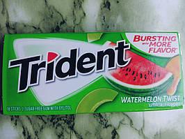 Жвачка без сахара Trident Арбуз-дыня