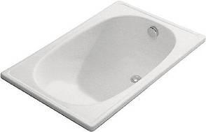 Сталева ванна Aquart Mini 105х70 з сидінням і без Португалія