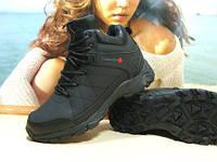 Ботинки зимние мужские Columbia (реплика) черные 43 р., фото 1