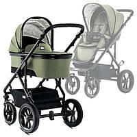 Детская коляска универсальная 2 в 1 Moon Nuova Olive ТМ Moon Оливковый 63.730.200.895, фото 1