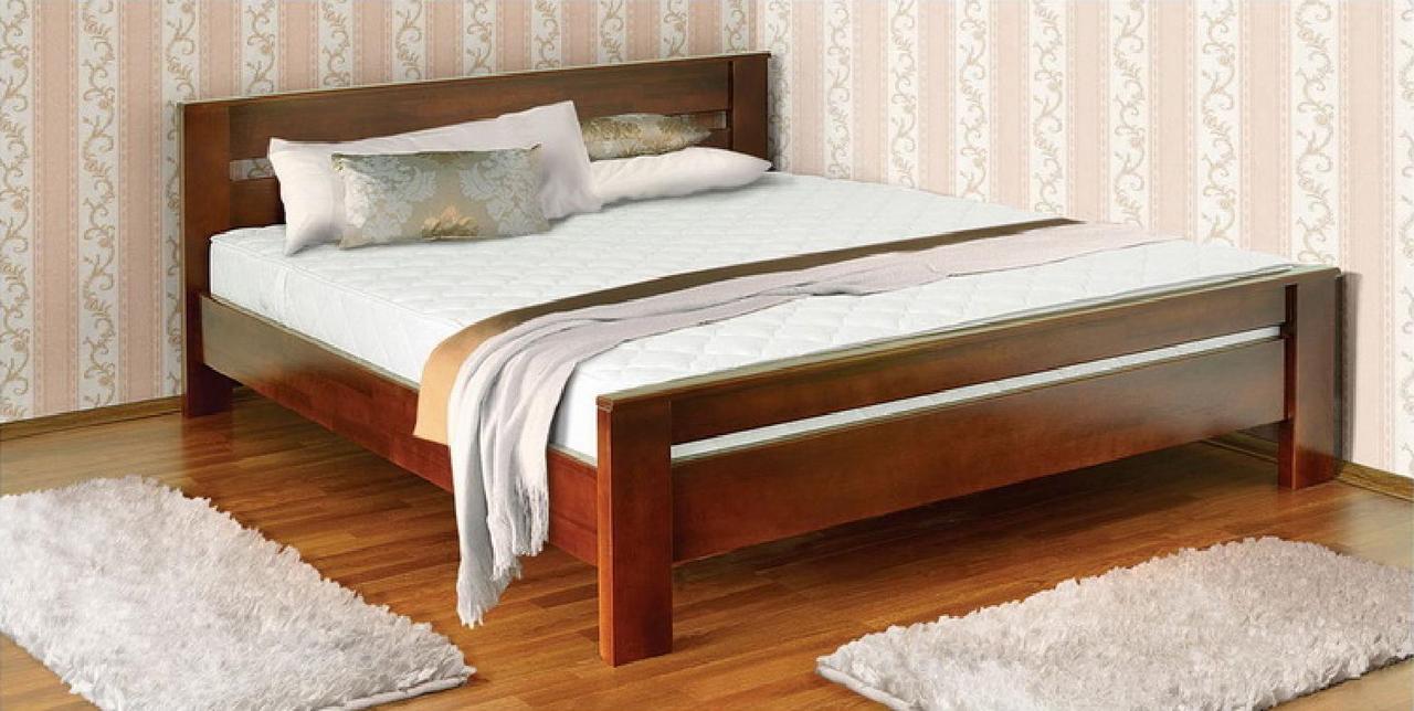 """Дерев'яне ліжко """"Артеміда"""" від виробника"""