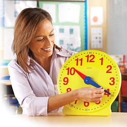 Большие обучающие часы Learning Resources