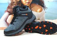 Мужские зимние ботинки Columbia (реплика) серые 46 р., фото 1