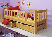 """Подростковая кровать """"Джерри"""" из экологически чистого дерева"""